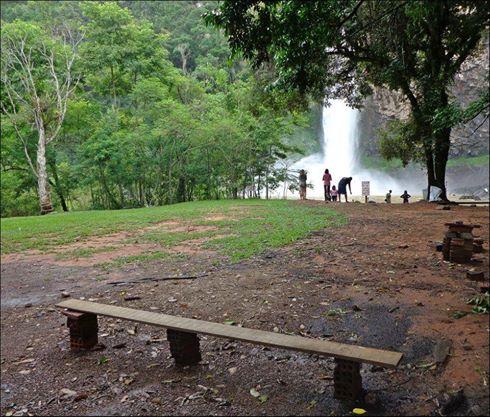 Camping Cascata do chuvisqueiro - Riozinho-RS