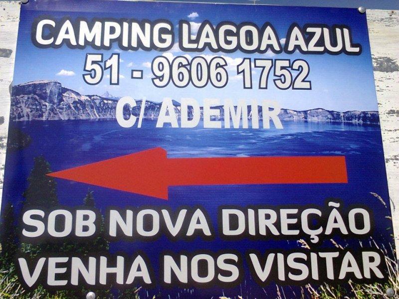 Camping Lagoa Azul Bacupari