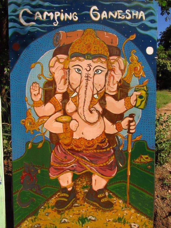 Camping Ganesha
