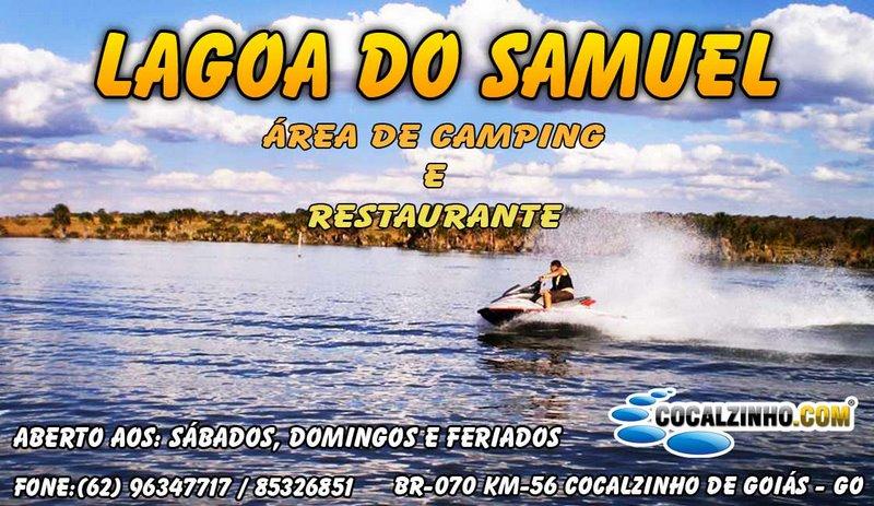 Camping Lagoa do Samuel