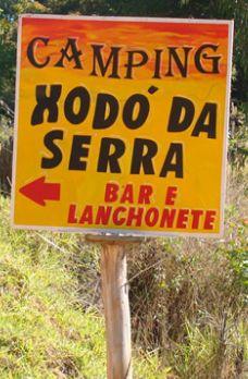 Camping Xodó da Serra