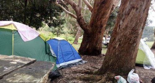 Camping Cachoeira Canyon do Rio São Jorge-Ponta Grossa-PR 3