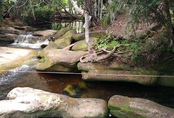 Camping Cachoeira da Porteira-presidente figueiredo-AM-1