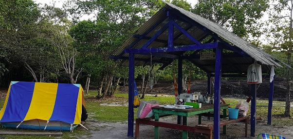 Camping Cachoeira da Porteira-presidente figueiredo-AM-3