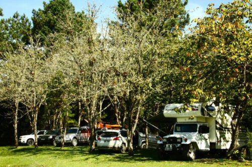 Camping Cachoeira Formosa-Rio dos Cedros-SC