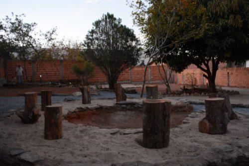 camping girassois
