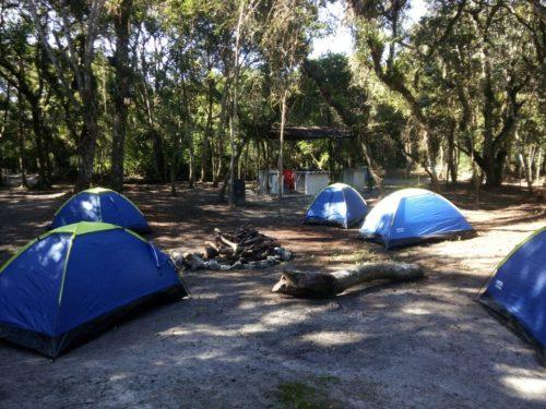 Camping Nosso Chalé na Ilha