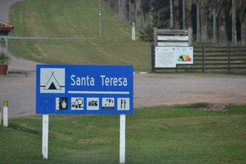Camping do Parque Nacional de Santa Teresa – Uruguay