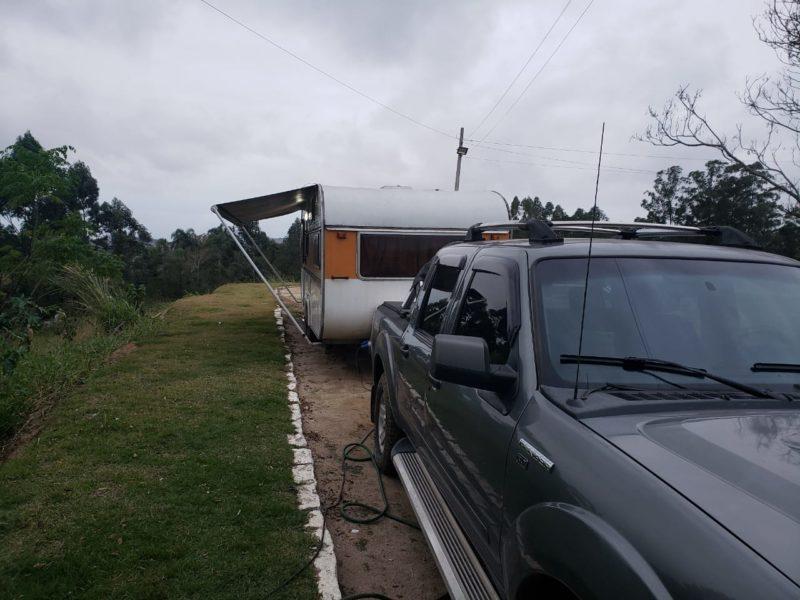 Apoio RV - Posto Nápoli Ipiranga - Jaguaruna-Foto Gustavo Demberg
