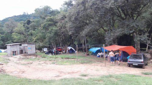 Camping Cascata do chuvisqueiro - Riozinho-RS 1