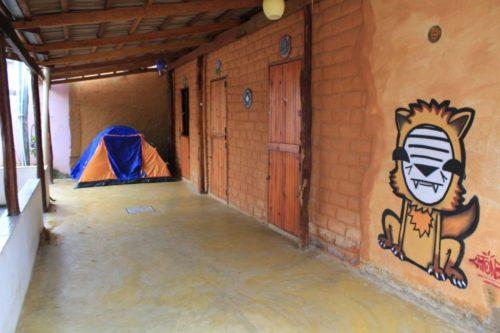 Camping Manga Rosa