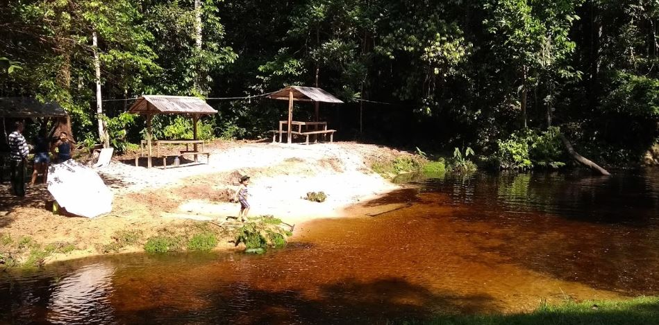 Camping Fazenda Santa Marta-Presidente Figueiredo-AM 2