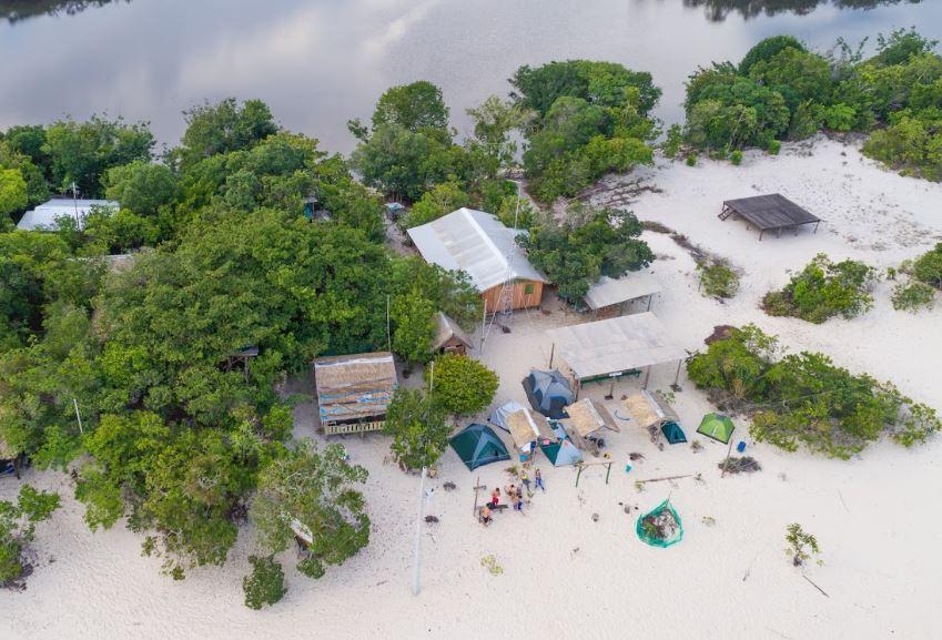 Camping Praia Grande de Iranduba-AM-1