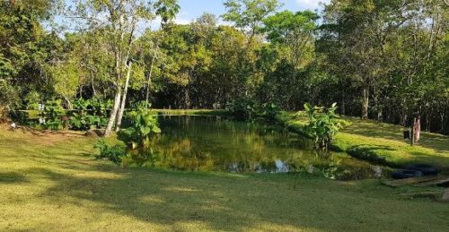 Camping Lagoa Azul-Vila PRopício-GO-