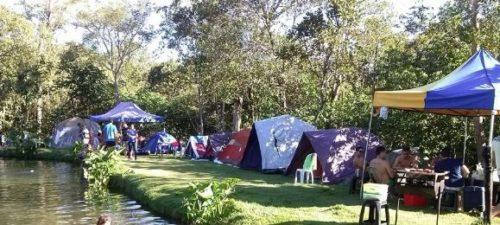 Camping Lagoa Azul-Vila PRopício-GO-4