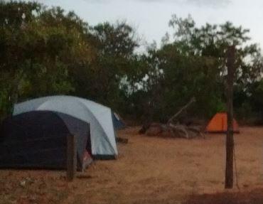 Camping Poço Azul