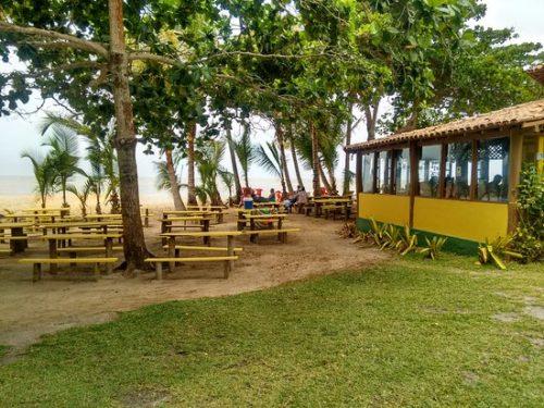 camping restaurante gloria-cumuruxatiba-ba