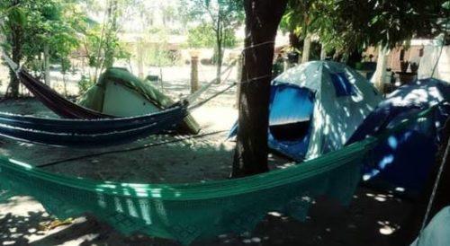 Sarau Surf Camping