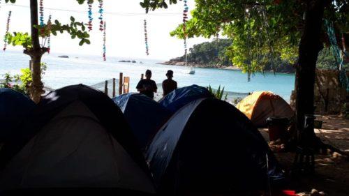 camping Na Praia-Trindade-RJ-5