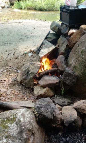 Camping Selvagem - Cachoeira Cachoeira do Rio do Alho-MAjor Gercino-3
