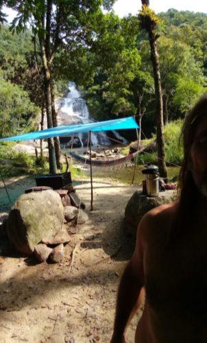 Camping Selvagem - Cachoeira Cachoeira do Rio do Alho-MAjor Gercino-4