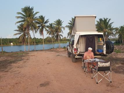 Camping Balneário Boca do Córrego-Amontada-CE