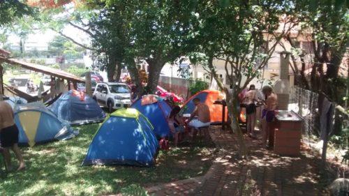 Camping Hostel Casa da Praia Piçarras-sc-7