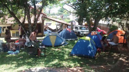 Camping Hostel Casa da Praia Piçarras-sc-8