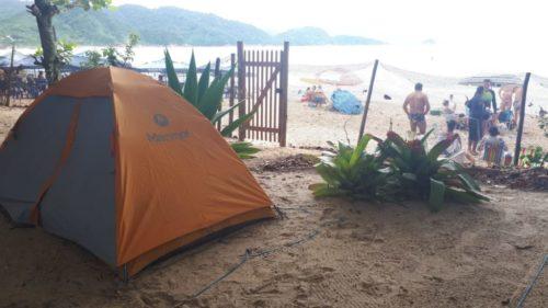 camping Na Praia-Trindade-RJ-15