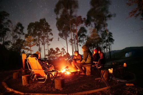 camping família x serra catarinense montanha da neve bom retiro sc santa catarina acampamento primitive  neve geada 2019 barraca quechua4