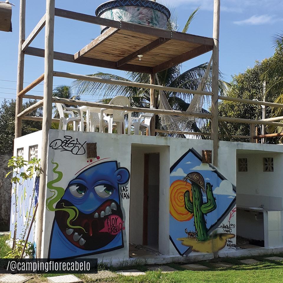 Camping Estação Cultural Flor & Cabelo-caucaia-ce-1