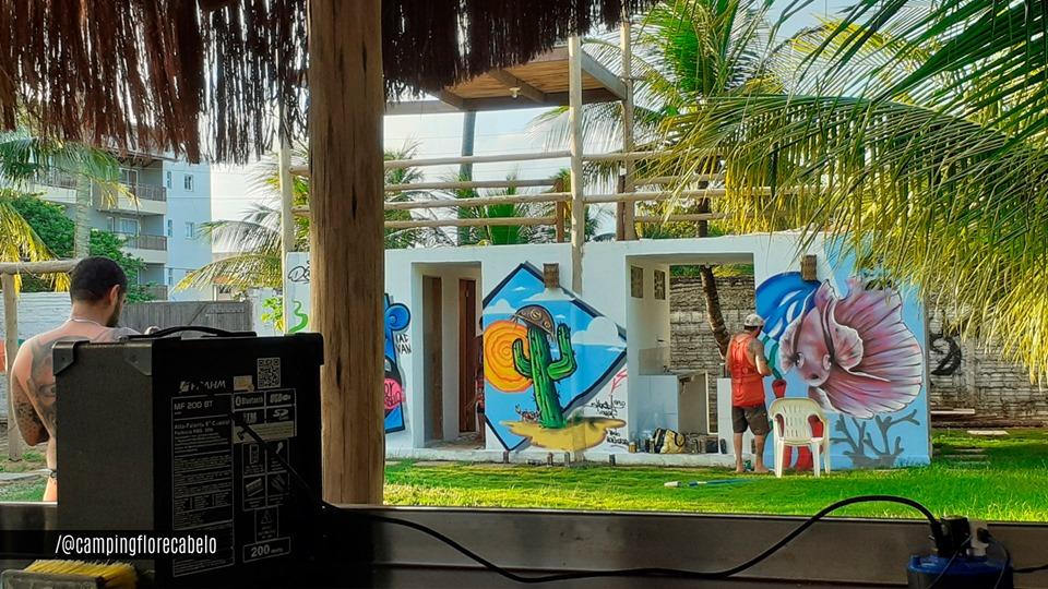 Camping Estação Cultural Flor & Cabelo-caucaia-ce-3
