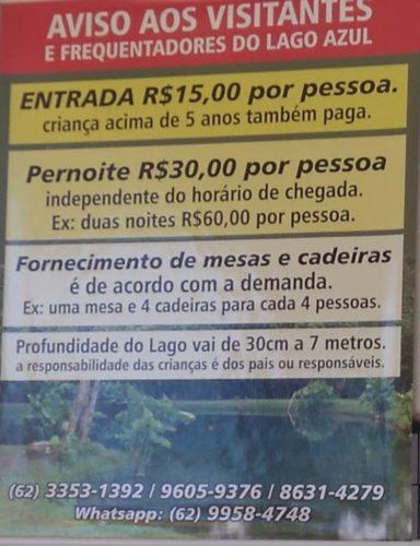 Camping Lagoa Azul-Vila PRopício-GO-20