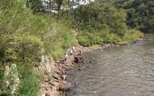 Camping Selvagem - Cachoeira da Usina velha-união da vitória-pr 2