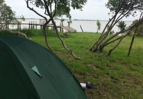 Camping Kiosk