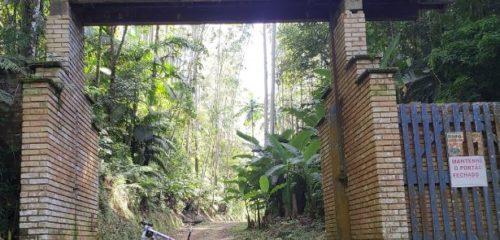 Camping Selvagem - Mirante Serra Paulo Kohler - Guabiruba portao de acesso
