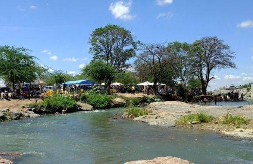 Camping Improvisado - Área de Lazer Transposição do São Francisco - Monteiro 3