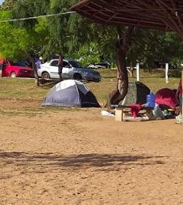 Camping Improvisado - Lago Bom Sucesso - Jataí 5