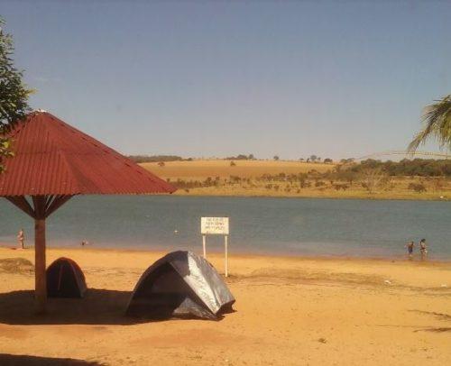Camping Improvisado - Lago Bom Sucesso - Jataí 7