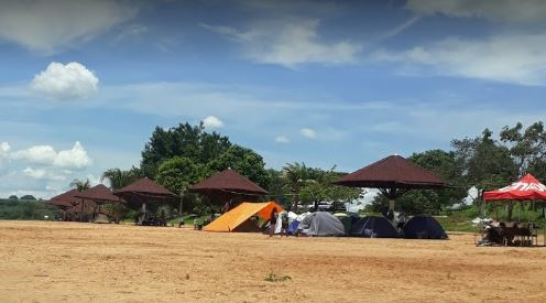 Camping Improvisado - Lago Bom Sucesso - Jataí 8