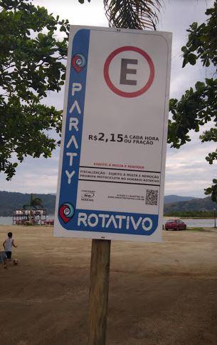 Apoio RV - Estacionamento Rotativo Praia - Paraty