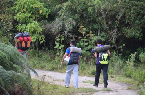 Camping Selvagem - Pedra da Macela - Paraty-Cunha