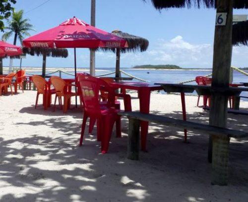 Apoio RV - Cabana Deck da Barra - Alcobaça-ba-1
