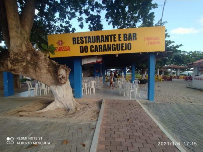 Apoio RV - Bar do Caranguejo - Paripueira - Foto Alberto Jorge Mesquita