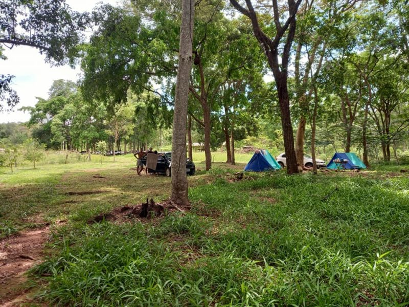 Camping Estância Poço Azul