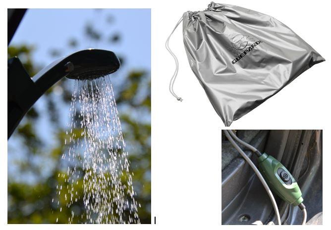 06afafdcf O chuveiro para quem possui veículo e que poderá utilizá-lo em qualquer  lugar