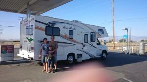 Viagem Pela Califórnia de Motor Home – 2014