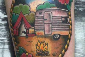 Tatuagens Para Quem Gosta de Acampar