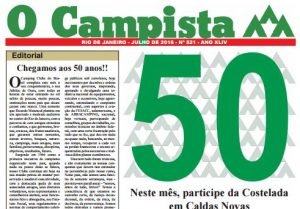 """Edição de 07/2016 do Jornal """"O Campista"""" do CCB"""