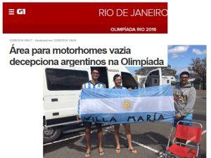G1 Globo: RV PArking de Niterói Decepciona